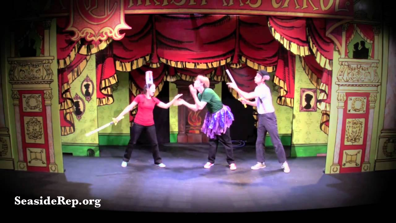 Seaside Rep Theatre - Every Christmas Story Ever Told (teaser ...