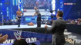 WWE Smackdown 06/08/12 Christian Vs Cody Rhodes At No Way Out 2012 (HD).