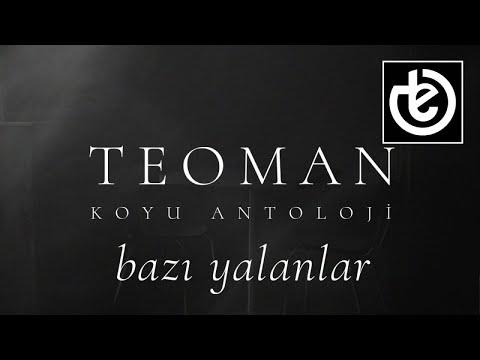 teoman - bazı yalanlar (Official Lyric Video)