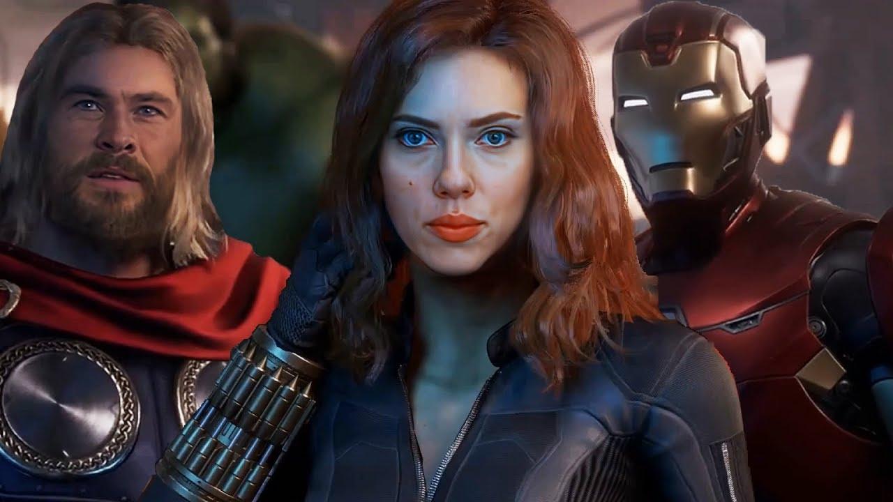 Avengers Square-Enix Black Widow Deep Fake