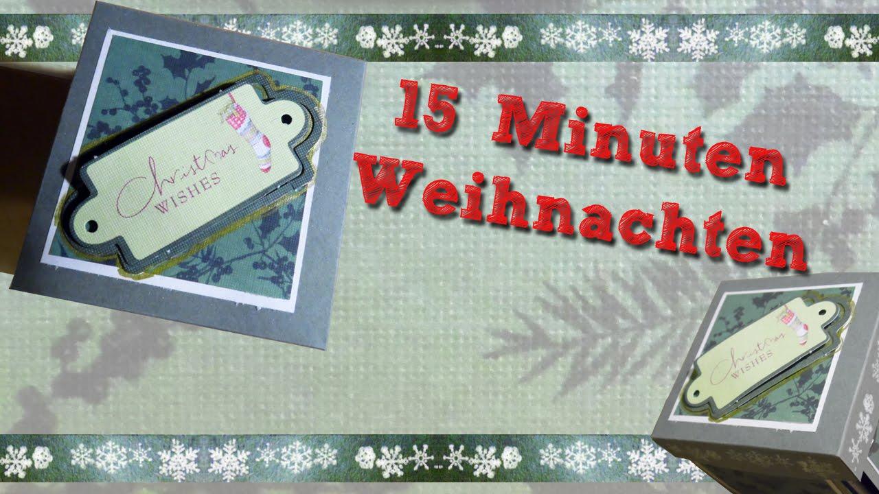 15 Minuten Weihnachten Anleitung.15 Minuten Weihnachten In Einer Box German Hd