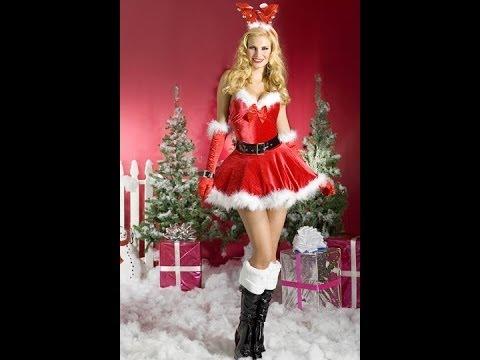 YouTube Premium  sc 1 st  YouTube & Santa Costumes for Women - Cheap !! Christmas Online Buy Shopping ...