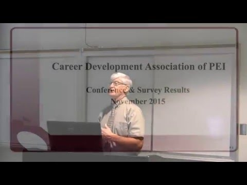 The Case for a Career Development Strategy on PEI- Steve MacQuaid- 2015