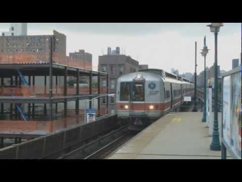 Metro North Trains @ Harlem 125th Street Station @ New York Manhattan in full HD