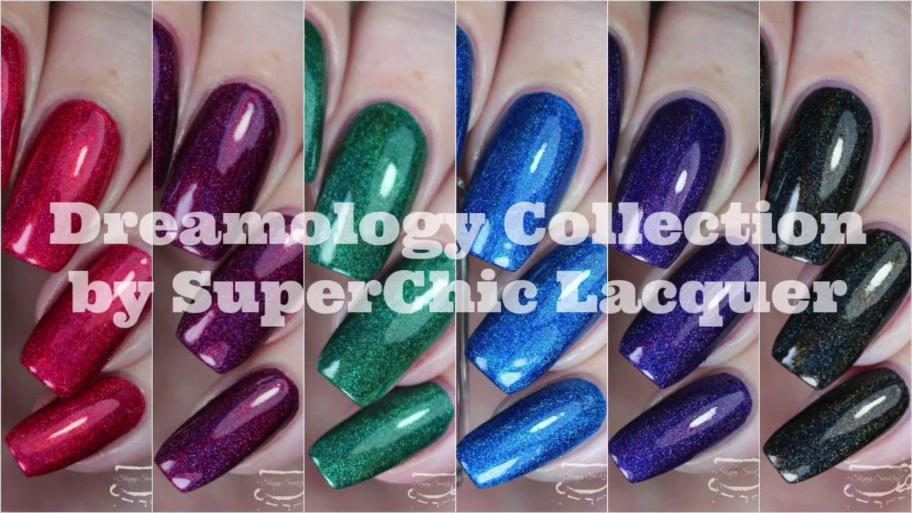 Swatches Dreamology Collection By Superchic Lacquer