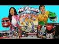 Power Rangers Toy Challenge Pink Ranger Vs Green Ranger !  || Toy Review || Konas2002