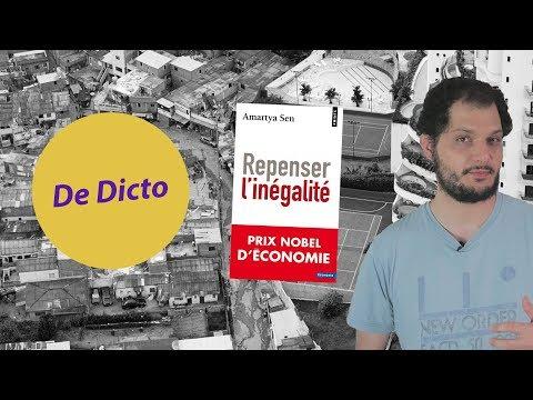 Amartya Sen - Repenser l'inégalité - De Dicto #14