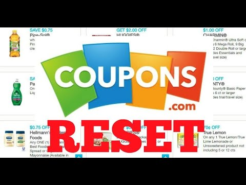Coupons To Print, Lots Of Resets May 1st 2020
