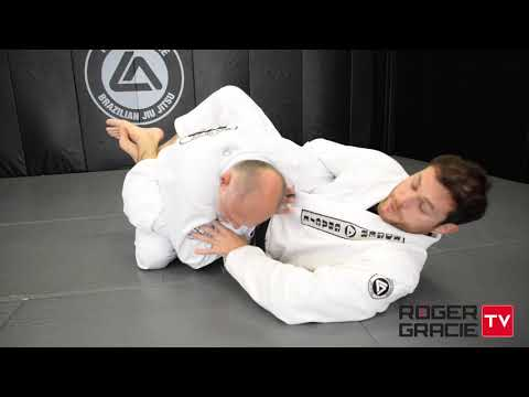 Roger Gracie teaches attacks from the arm wrap position