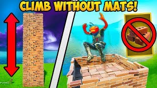 *NEW TRICK* TAKE HIGH GROUND WITH NO MATS!! - Fortnite Funny Fails and WTF Moments! #768