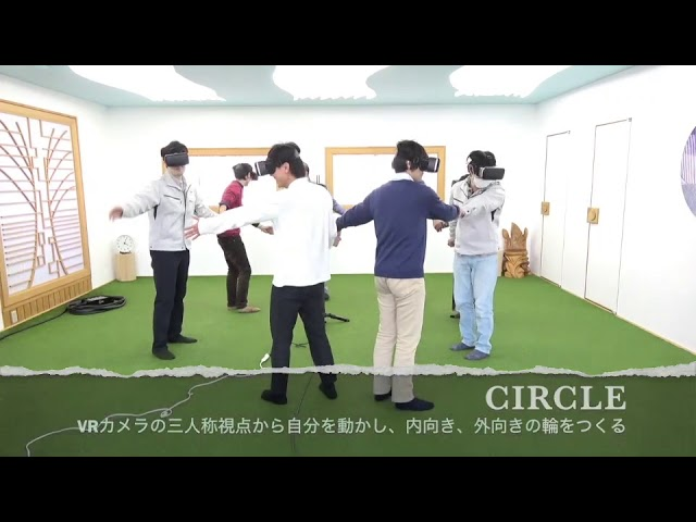 三人称神視点VRアクティビティ - Train/Circle...