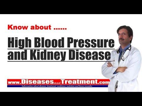High Blood Pressure And Kidney Disease