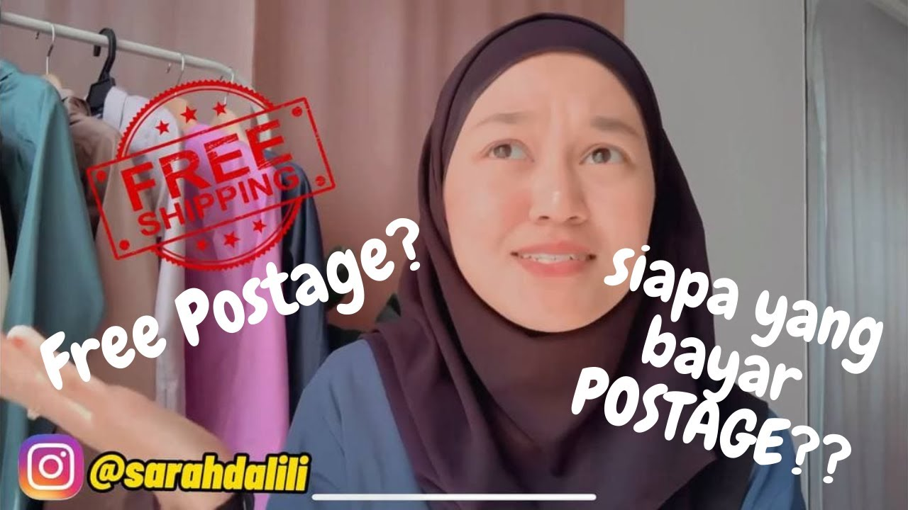 Download Siapa yang bayar Shipping/Postage? Free Shipping Program Shopee. Details Senang faham  (BEGINNER)