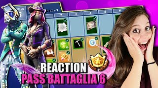 REACTION to THE NEW PASS BATTLE 6! READ ALSO - Fortnite