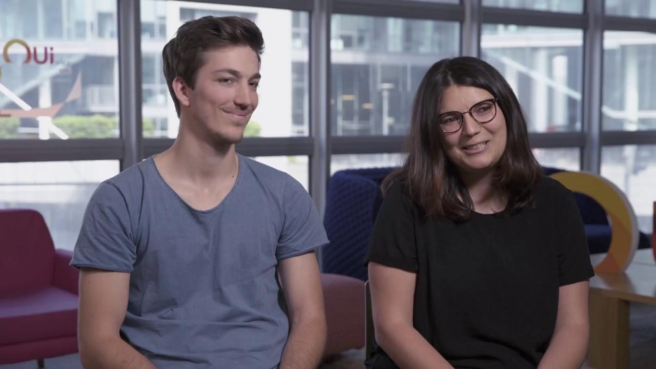 Interview de Marie Odile, Développeuse iOS et Nicolas, Développeur Android