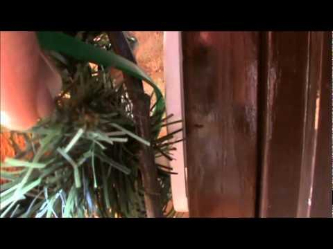Episode 57 Hanging Garland Around The Door Youtube