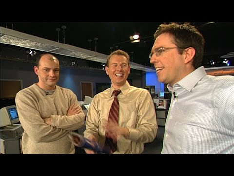 Ed Helms & Rob Corddry Unleashed @ Inside Edition (2004)