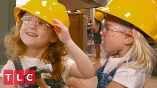 The Quints Demo the Kitchen! | OutDaughtered