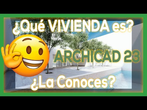 ✅ ArchiCAD 23 - Modelar Un Casa Desde 0 (Obra Famosa)😎