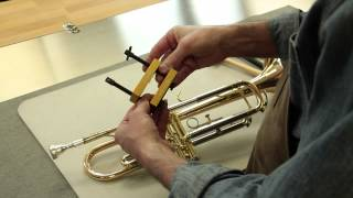 REMOVING STUCK MOUTHPIECE ON A TRUMPET