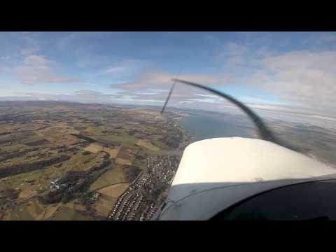 Flying from Prestwick 12th March 2013, Gopro