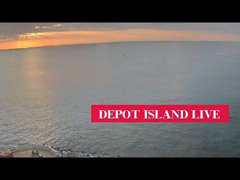 デポアイランド サンセットライブビューカメラ