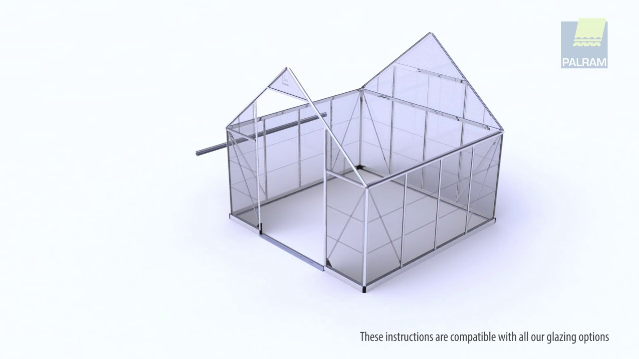 Oogarden Video D Assemblage Serre De Jardin Polycarbonate Grand Luxe Palram