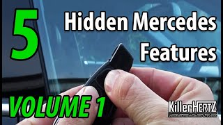 5 Hidden Mercedes functions, tricks & features - Vol 1