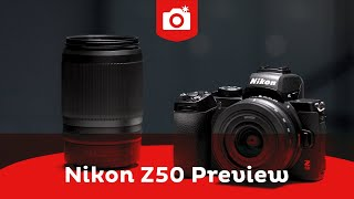 Nikon Z50 Preview | APS-C systeemcamera