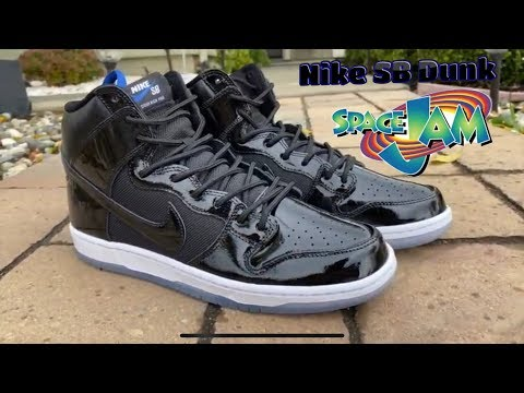NIKE SB DUNK SPACE JAM REVIEW! EUROPE EXCLUSIVE!