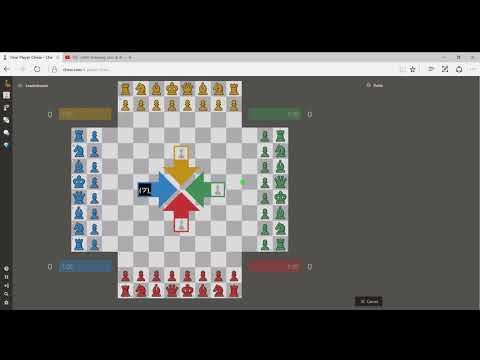 4 player chess (4人用チェス)紹介動画