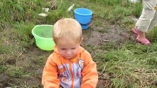 Семья Бровченко. Поездка на рыбалку - Улов, пикник и т.д.