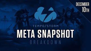 Hearthstone Meta Snapshot Break Down: December 10, 2016