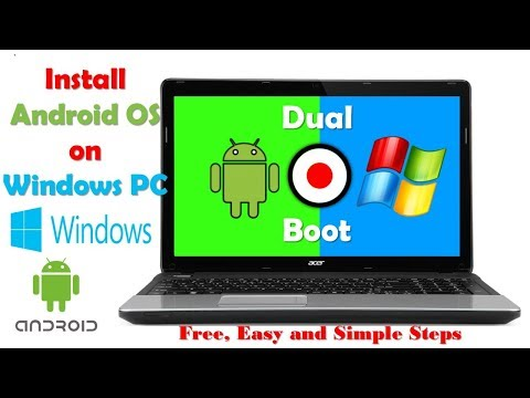 How To Install Android On PC/ Laptop ( Windows 7,8,10)  Without Bluestacks/ Youwave/ Any Emulator