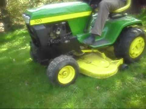 john deere 300 aufsitzm her youtube. Black Bedroom Furniture Sets. Home Design Ideas