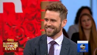 Bachelor Nick Viall Interview Live on 'GMA'