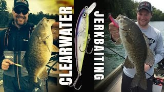 Fishing Jerkbaits for Clearwater Smallmouths