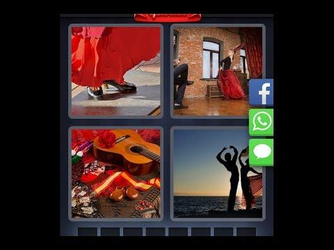 Vier Bilder Ein Wort Spanien