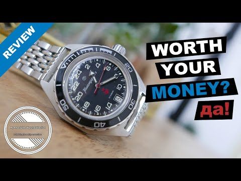 Vostok Komandirskie 650541 Watch Review   This Russian Field Watch Is A Lot Of Watch For Your Money