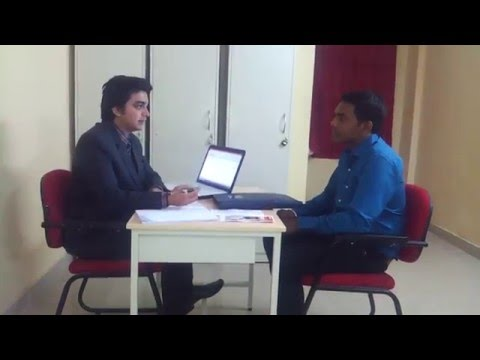 ICICI Manipal Academy mock banker-customer interaction performed by Abhijeet