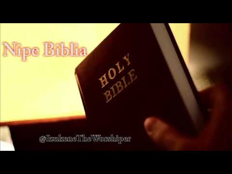 Nipe biblia#dedicated to all believers