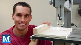How to Make a Sled for a Band Saw