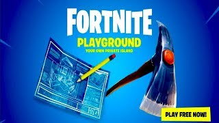 Fortnite - Official NEW PLAYGROUND MODE Trailer 2018 (PS4 Xbox One PC)