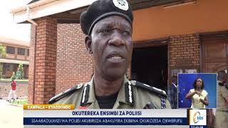 Okutereka Ensimbi Za Poliisi, Ssaabaduumizi Wa Poliisi Akubirizza Abakuyira Ekibiina Okukozesa Obwer