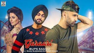 Download GARAARI - OFFICIAL  - BUPS SAGGU FT. SAINI SURINDER & PREET KAUR (2017) MP3 song and Music Video