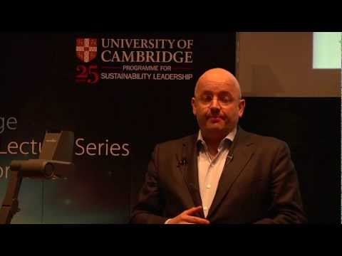 Peter Bakker, CEO, WBCSD: Cambridge Distinguished Lecture Series.mp4