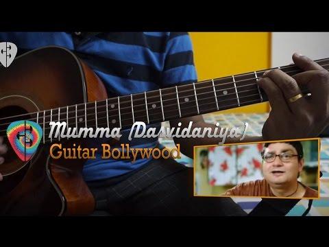 """#Learn2Play ★★ """"Mumma"""" (Dasvidaniya) chords - Guitar Bollywood lesson"""