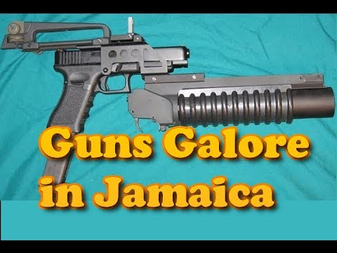 Guns Galore  in Jamaica -Gun man caught, said he is not a lottery scammer
