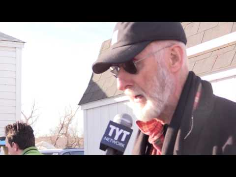 "Actor James Cromwell Blasts Oil Police ""Thugs"""
