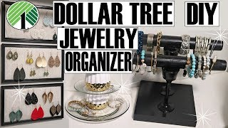 DOLLAR TREE JEWELRY ORGANIZER DIY